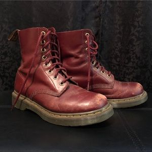 Women's Dr. Martens LEATHER boots